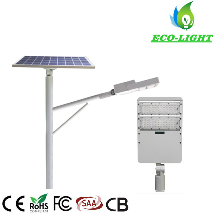 80 Watt IP65 SMD Module Split Type Solar LED Street Light
