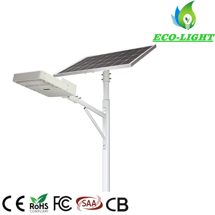 Outdoor Road Lighting Split Solar Lights IP65 100W LED Module Solar Street Light