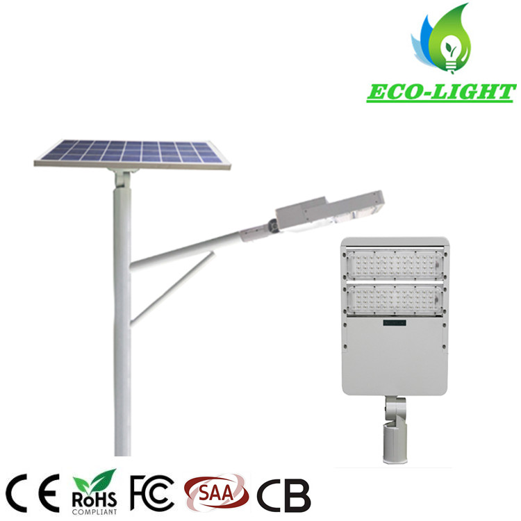 New Type 100 Watts Lamp Solar Garden LED Street Light Outdoor Waterproof Solar