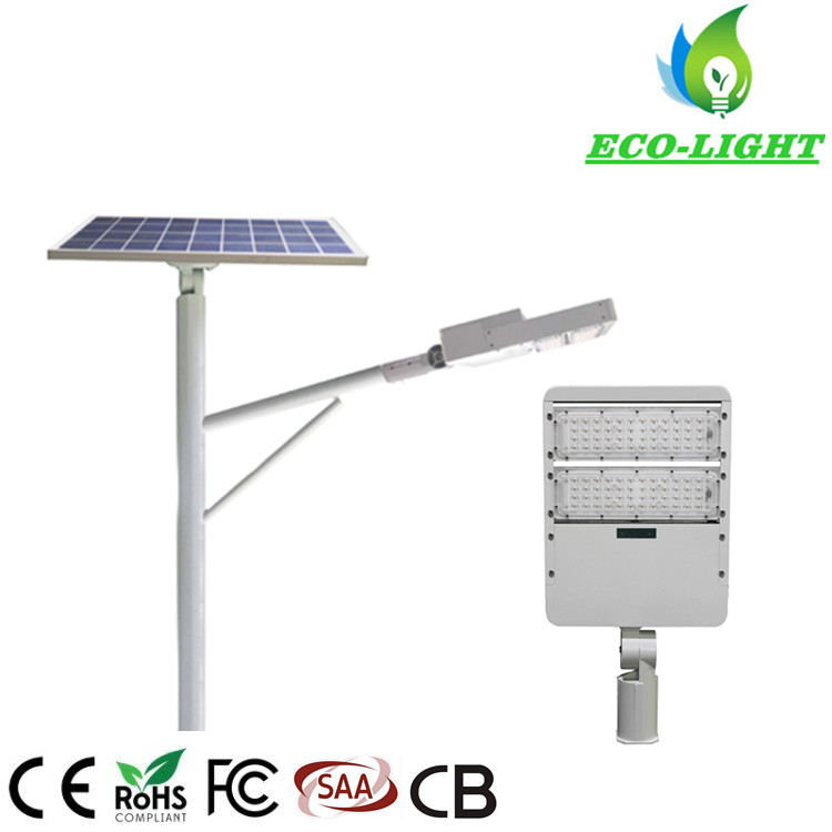 Outdoor Waterproof 60 Watt IP65 LED SMD Module Solar Street Light with Light Pole