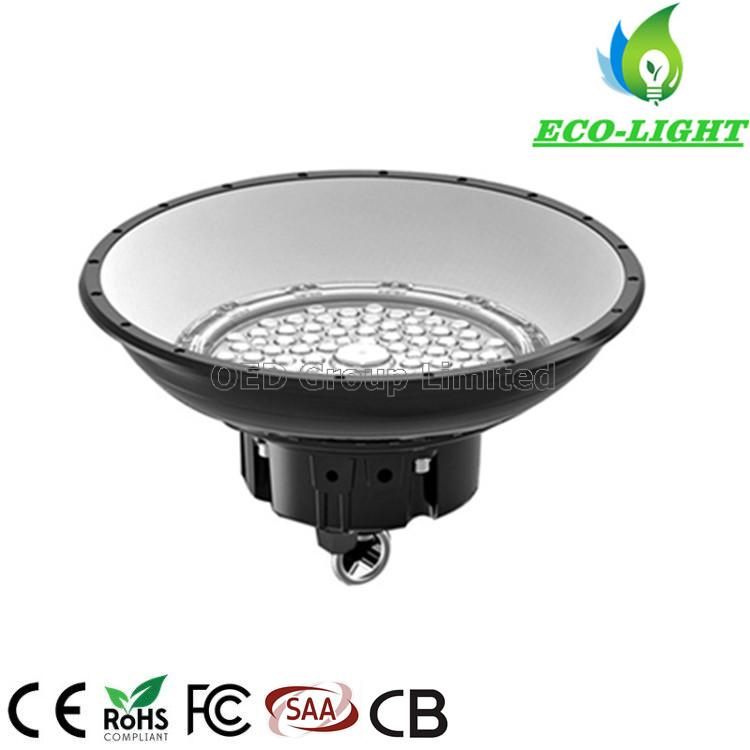 IP65 Industrial UFO LED Pendent High Bay Light 100W