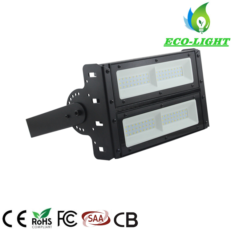 IP67 SMD Modular 100W Adjustable Angle LED Flood Light for Tunnel Lighting