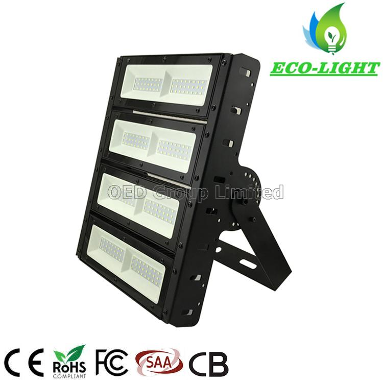 200W SMD Chips Adjustable Angle LED Modular IP67 Waterproof Outdoor Lighting Flood Lights