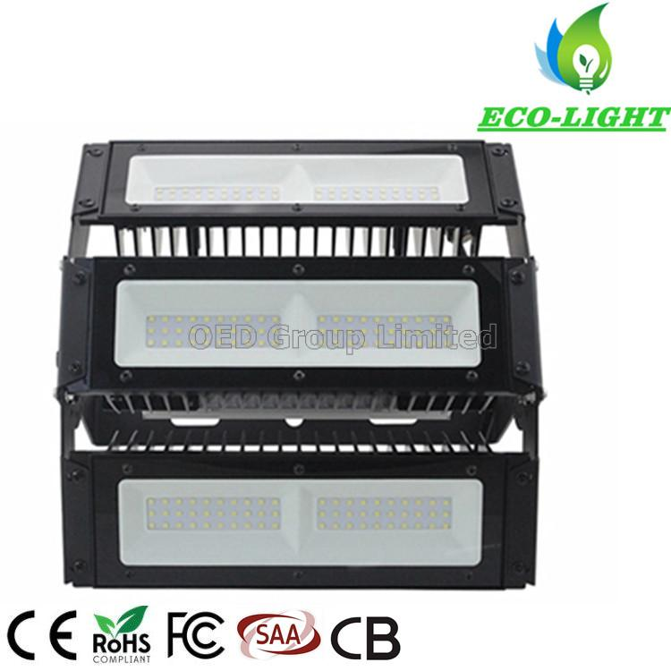 Adjustable Angle SMD3030 LED Module Flood Light 100W 150W 200W IP67 for Stadium