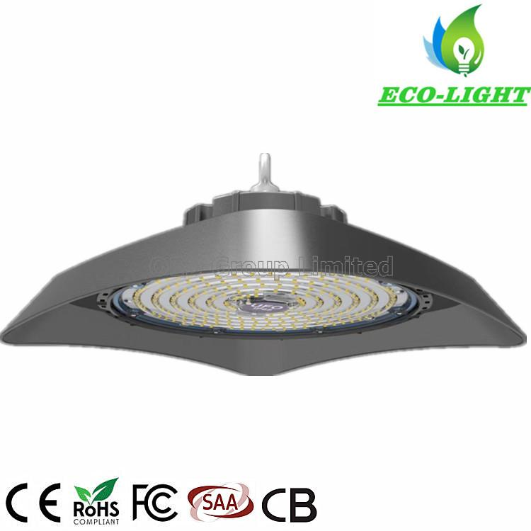 Square Hanging Light 150W SMD3030 High Quality LED UFO Highbay Lamp for Industrial Lighting