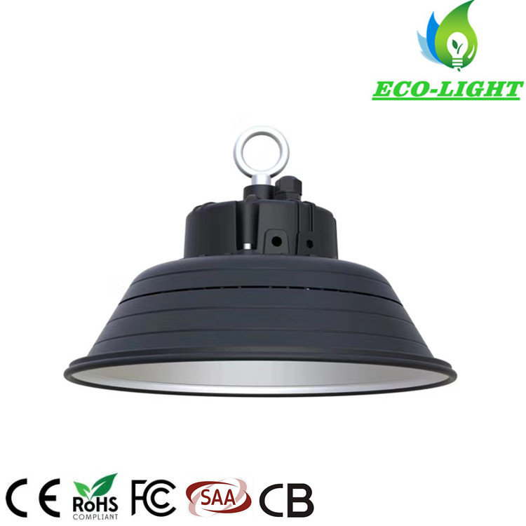 New IP65 100W LED Shop Lighting UFO Round High Bay Light