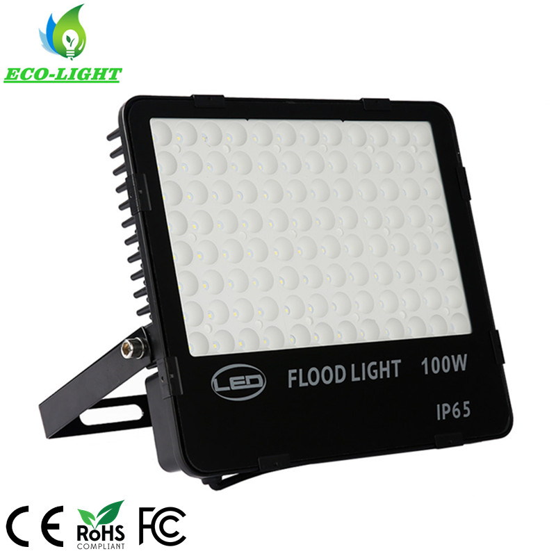 AC85-265V 60degree Nano cooling fins 100W LED Landscape Lighting